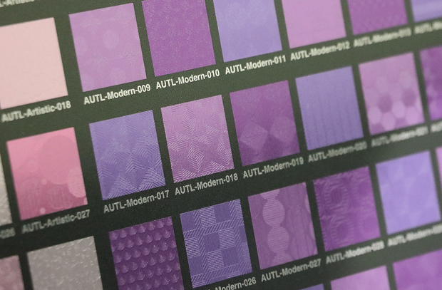 【UVプリンタ】透明インクで擬似テクスチャを作る