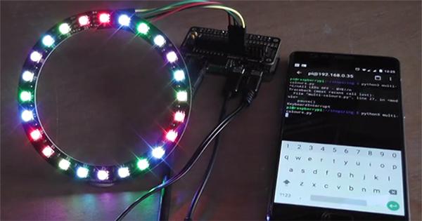 Raspberry Piで光り方をプログラムできるRGB LED電子工作キット ...