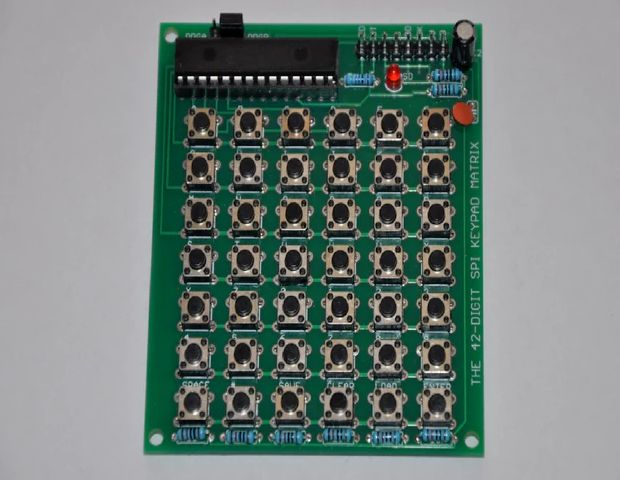 42-Digit SPI Keypad Matrix
