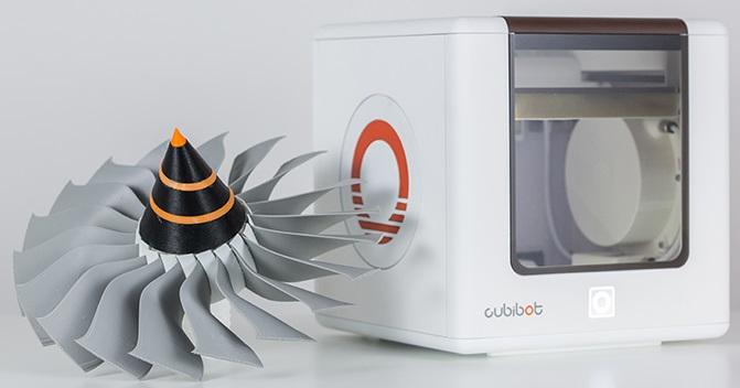 クラウドベースで簡単3Dプリント——デスクトップにおける小型FFF方式3Dプリンター「Cubibot」