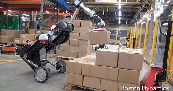 倉庫作業の自動化を可能にする荷捌きロボット「Handle」を公開 ボストン・ダイナミクス