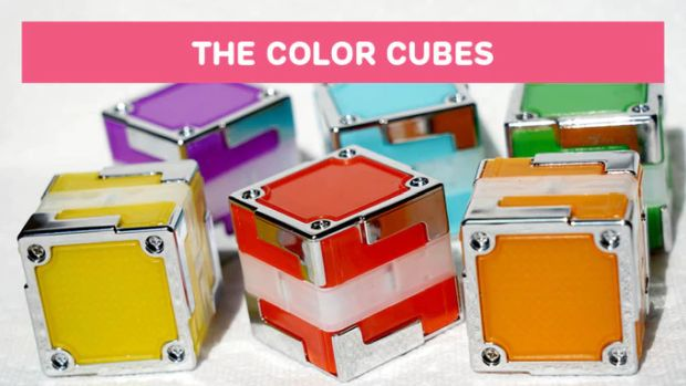Tactbit Cubes - The Color Cubes