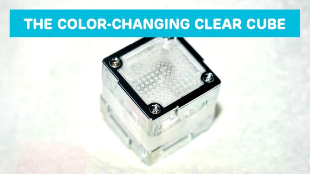 Tactbit Cubes - The Color Changing Clear Cube