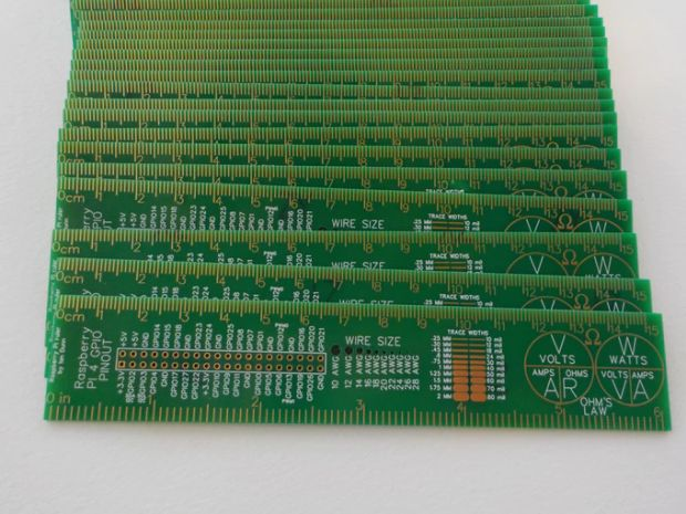Raspberry Pi PCB Ruler