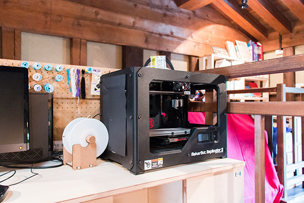 3Dプリンタ:「MakerBot Replicator 2」
