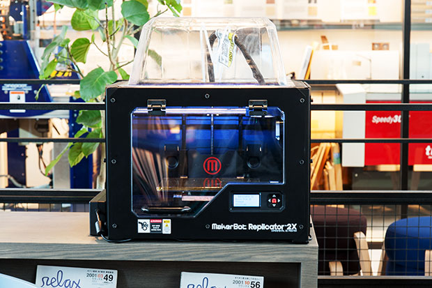 3Dプリンタ:「MakerBot Replicator 2X」