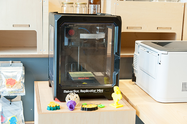 3Dプリンタ:「MakerBot Replicator Mini」