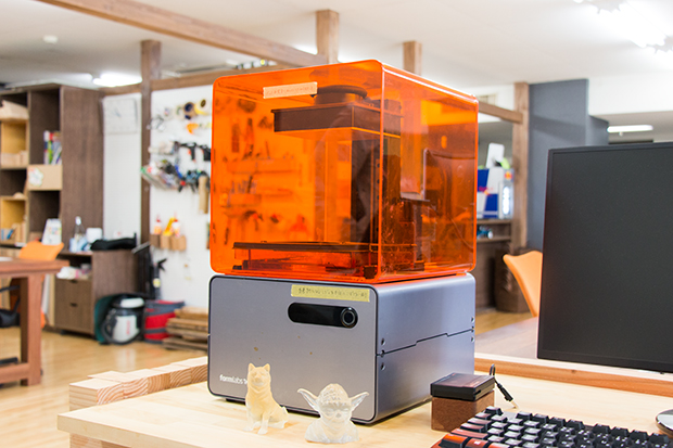 3Dプリンタ:「Formlabs Form 1+」