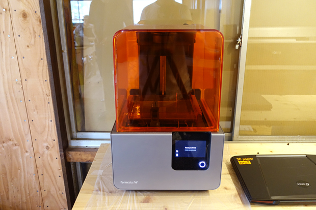 3Dプリンター:「formlabs Form2」